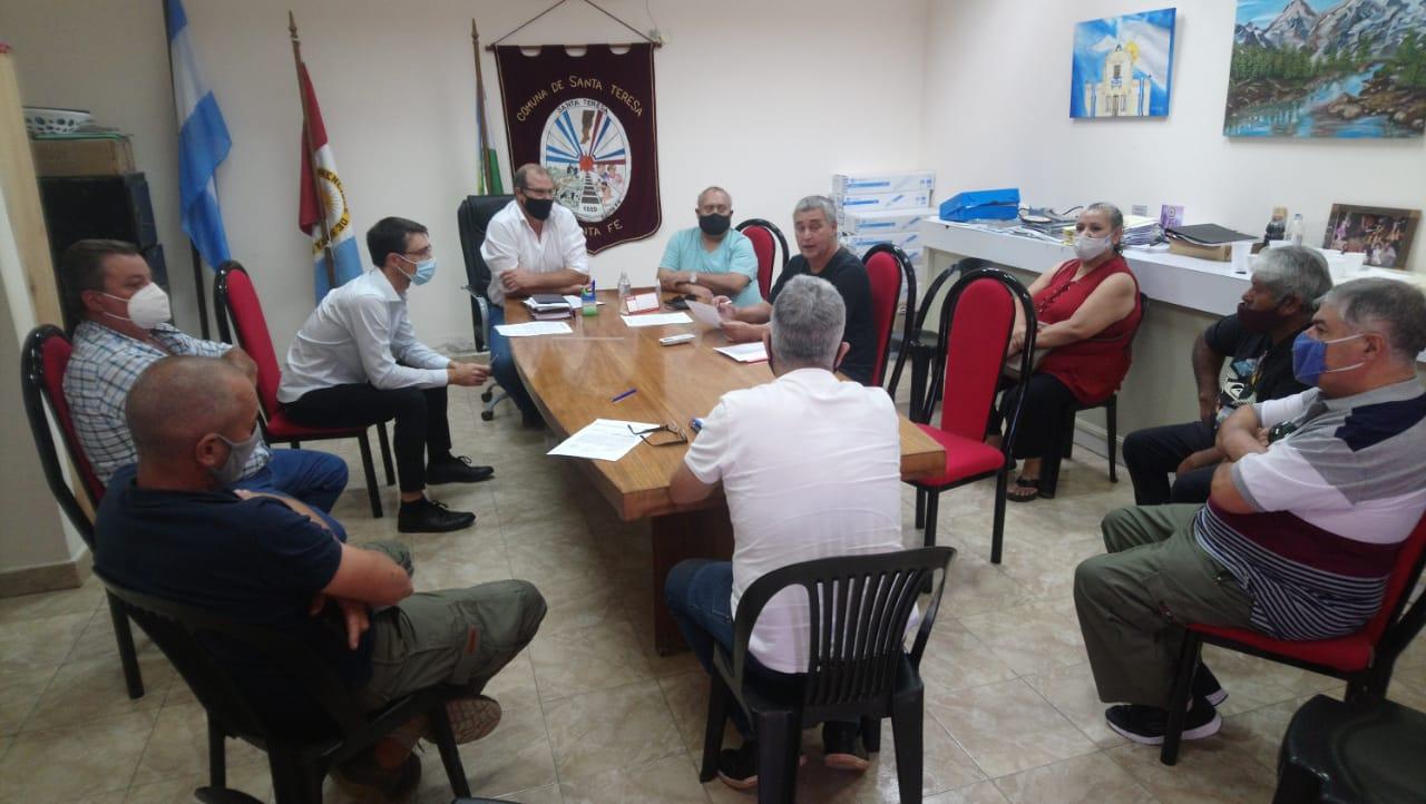 Encuentro muy productivo entre los representantes Paritarios Municipales, encabezados por los representantes de FESIM.